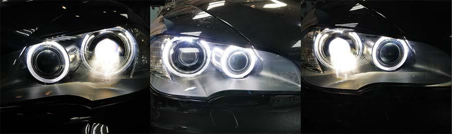 Замена линзы фары BMW Х5